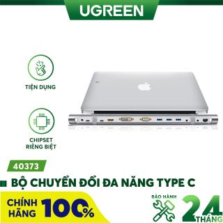 Bộ chuyển đổi đa năng USB type C hỗ trợ 13 cổng đầu ra, cáp dài 0.5m UGREEN MM131 - Hãng phân phối chính thức thumbnail