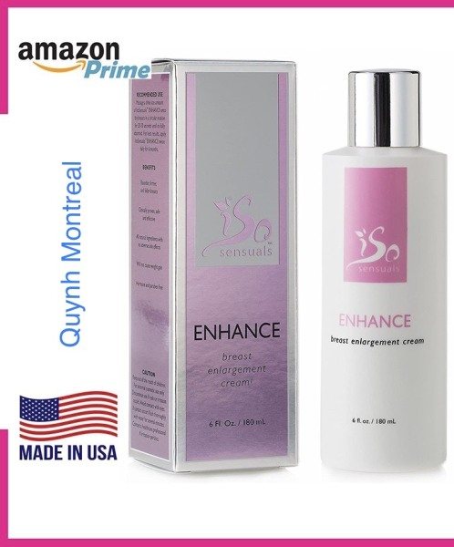 Kem nở ngực IsoSensuals Enhance Breast cream - Made in USA tốt nhất