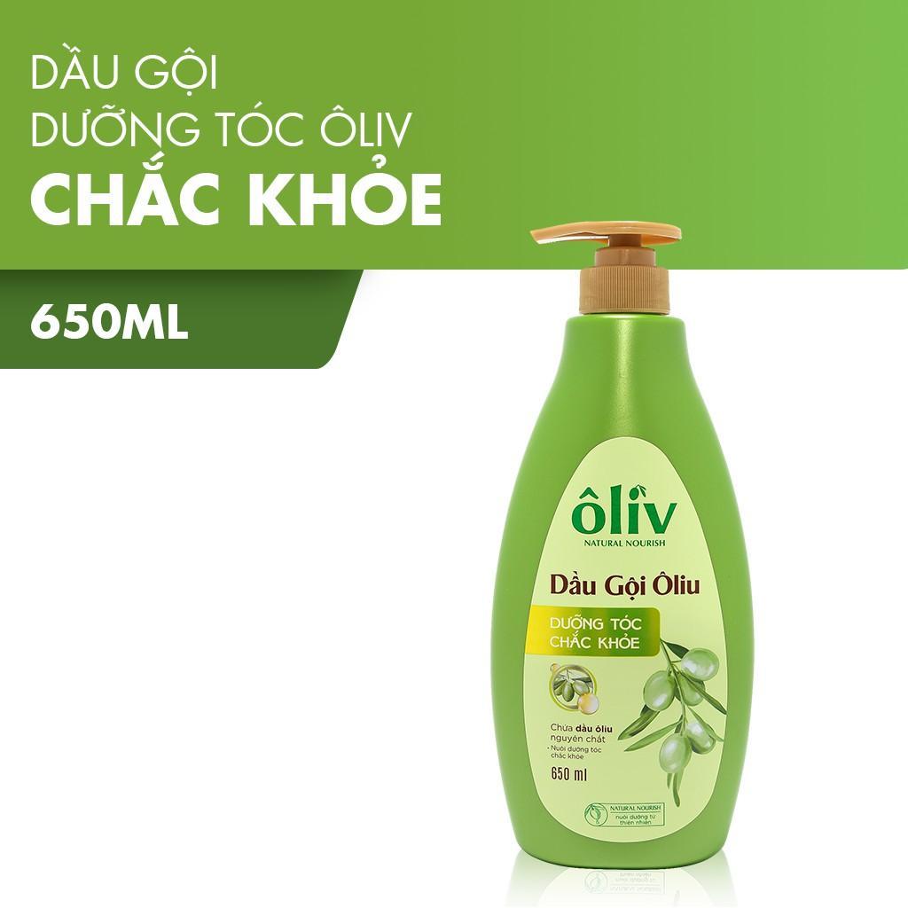 Dầu gội Oliv dưỡng tóc chắc khỏe Purité by Prôvence 650ml