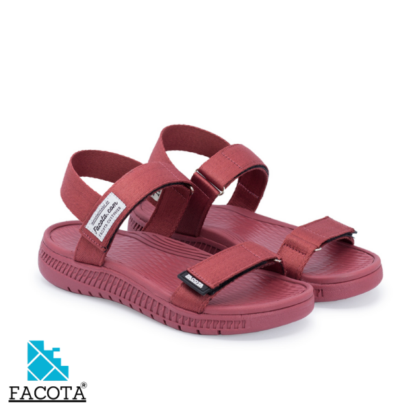 Giày sandal nữ Facota Angelica AN04 sandal học sinh nữ quai dù