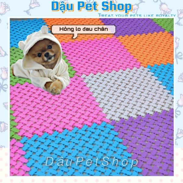 Tấm lót chuồng lót sàn nhà chống lọt chân cho chó mèo, đa dạng mẫu mã, chất lượng sản phẩm đảm bảo và cam kết hàng đúng như mô tả