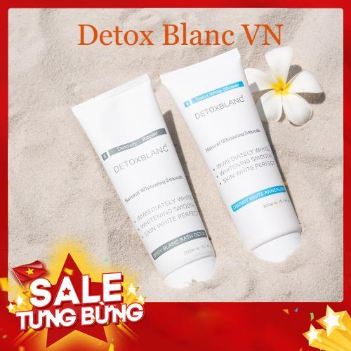 Combo tắm và ủ trắng Detox BlanC 300ml nhập khẩu
