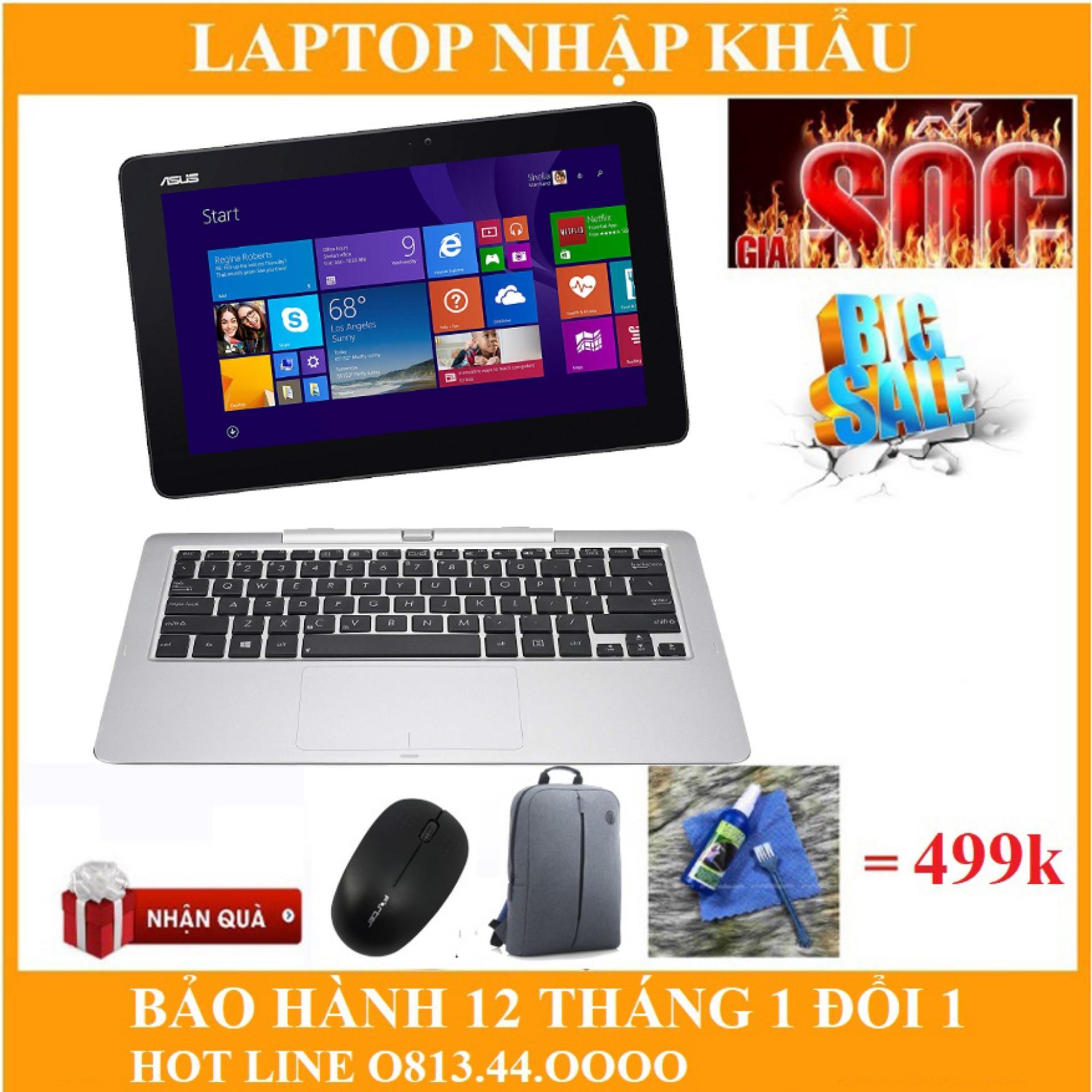 Mã Giảm Giá Khi Mua Laptop Asus T200TA Notebook Intel Atom Z3775/ 2GB/ 64GB ROM Full Box Bảo Hành 12thang