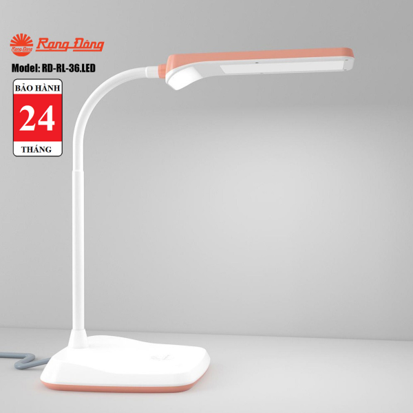 Đèn bàn LED cảm ứng Rạng Đông RD-RL-36.LED - chip LEDSamsung có hiệu suất sáng cao, ánh sáng không nhấp nháy, bảo vệ thị lực