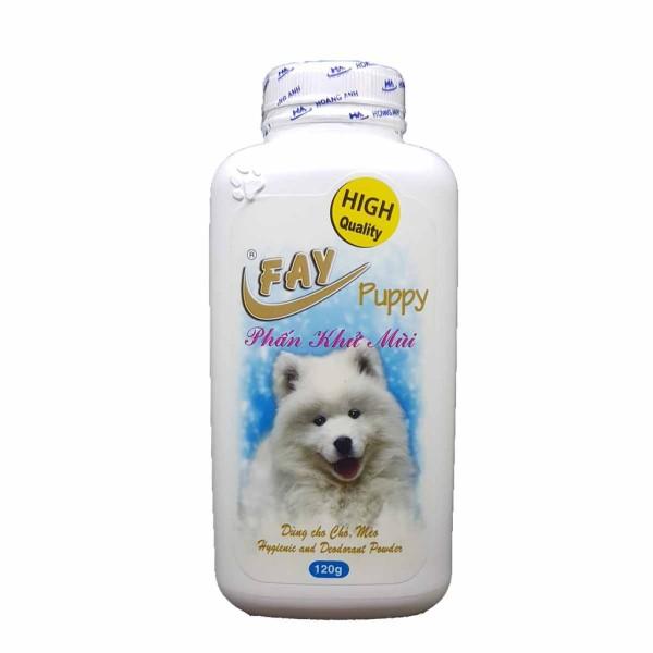 Phấn tắm khô fay 120gr cho chó mèo, chất lượng sản phẩm đảm bảo tốt và cam kết hàng đúng như mô tả