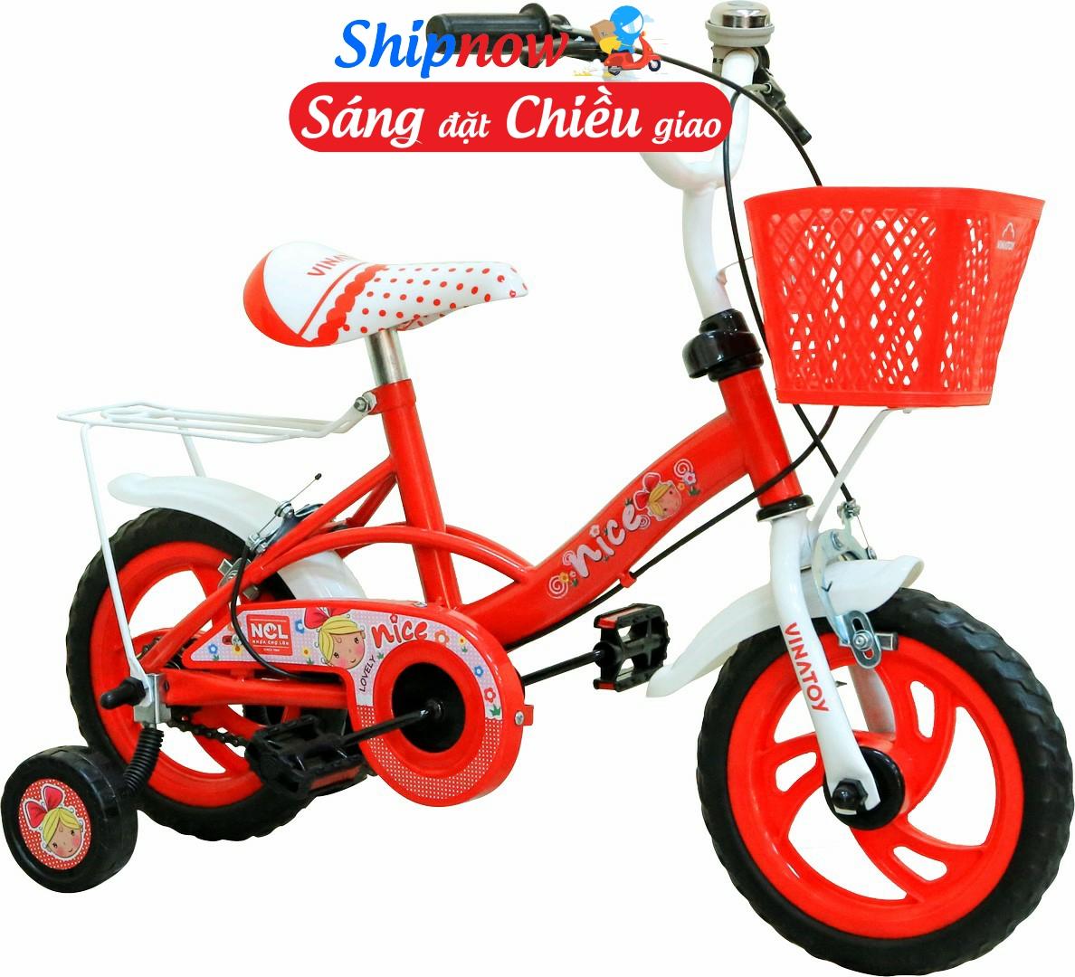 Giá bán Xe đạp trẻ em Nhựa Chợ Lớn 12 inch K104 - M1798-X2B
