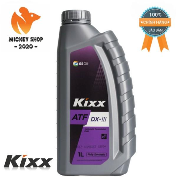 [ CAO CẤP ] Dầu Hộp Số Tự Động KIXX ATF DX III 1 Lít Chất Lượng Cao