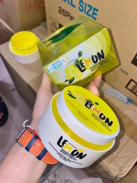 Kem body Lemon Chanh mẫu mới có tem