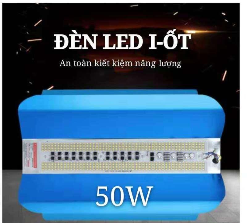 đèn led bản nhôm   Siêu sáng chống nước, đèn công trường công trình, đèn sàn  50W-100W (trắng sáng)