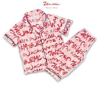 Đồ bộ mặc nhà Zen Me Pijama cộc lửng, chất liệu Lụa Giấy Luxury, thoáng mát, nhẹ mịn thumbnail