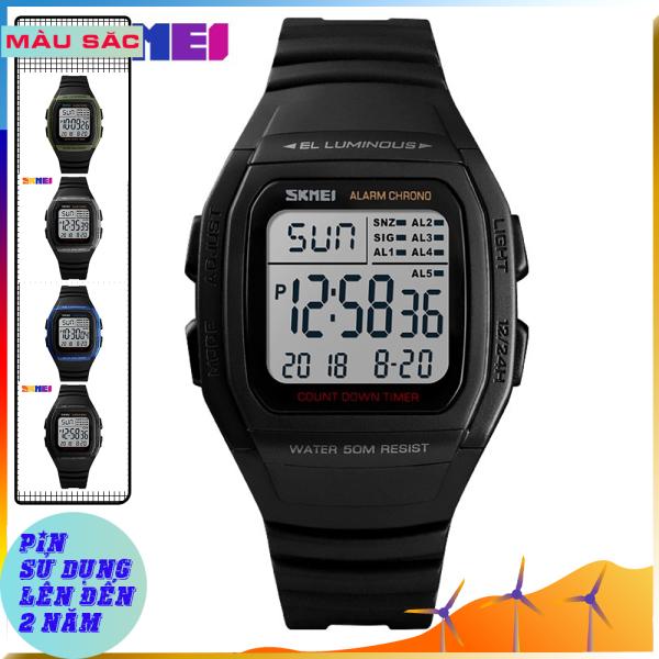 Đồng hồ nam thể thao SKMEI 1278 đồng hồ nam chính hãng (BẢO HÀNH 12 THÁNG) bán chạy