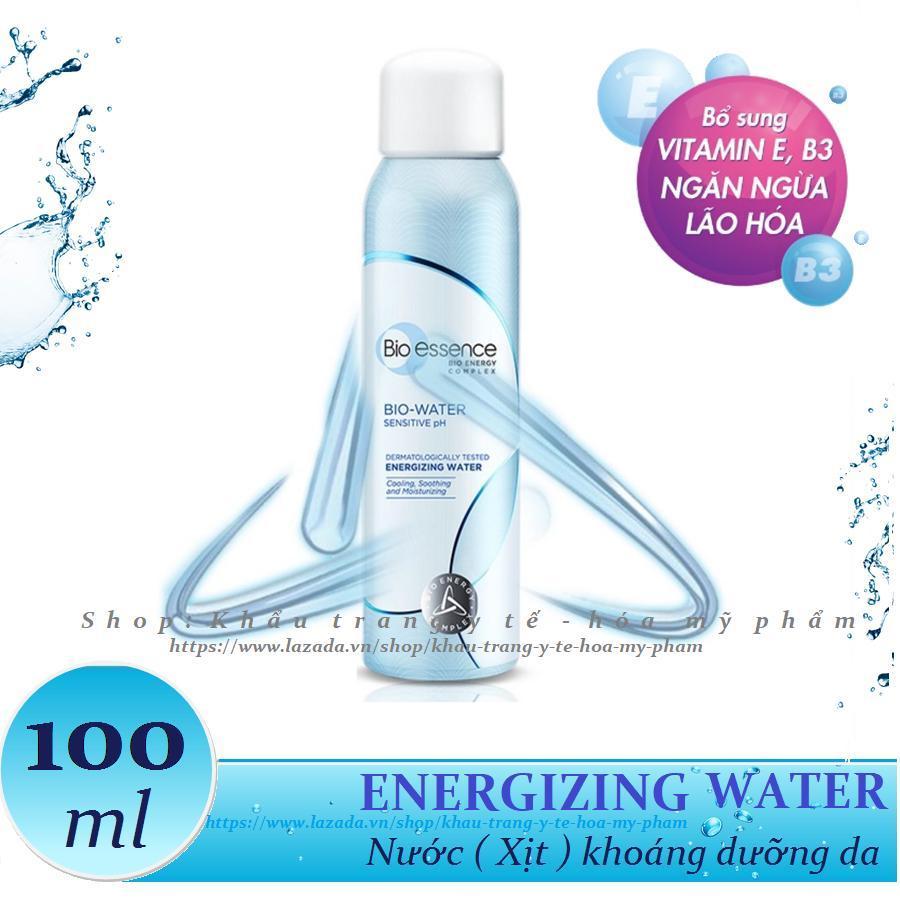 Bio-essence _ Nước xịt khoáng dưỡng da Energizing Water 100ml