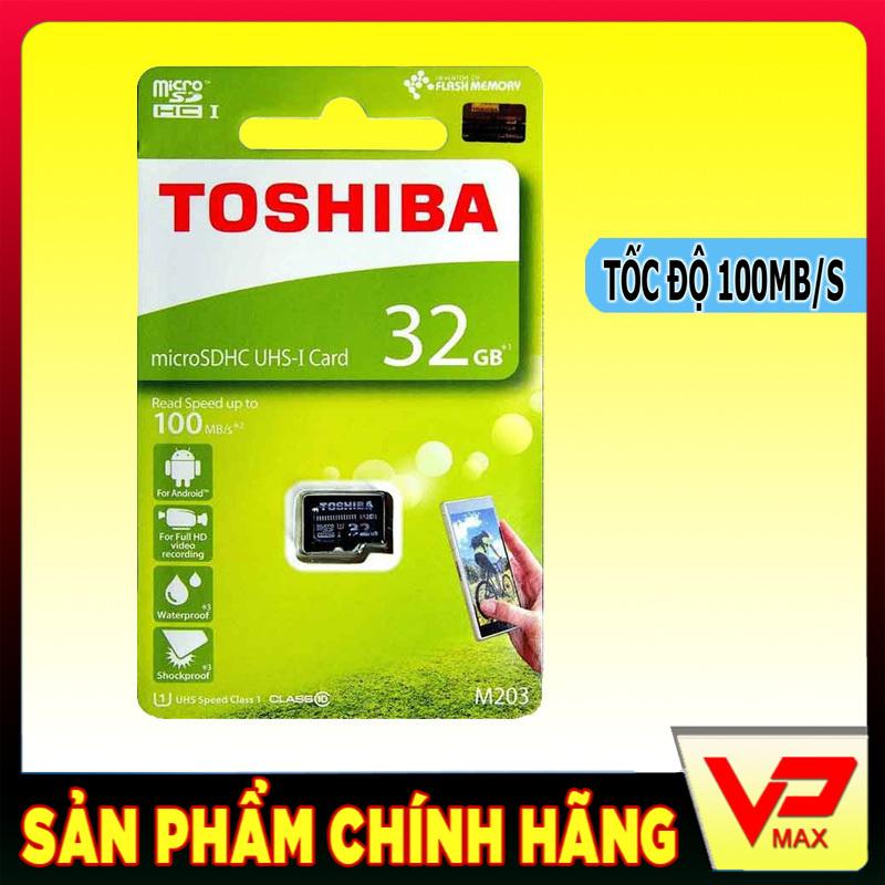VPMAX - Thẻ nhớ 32GB class 10 Toshiba tốc độ cao 100MB/s dùng cho điện thoại, camera