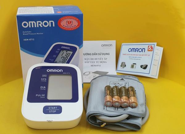 Nơi bán Máy đo huyết áp Omron Hem8712