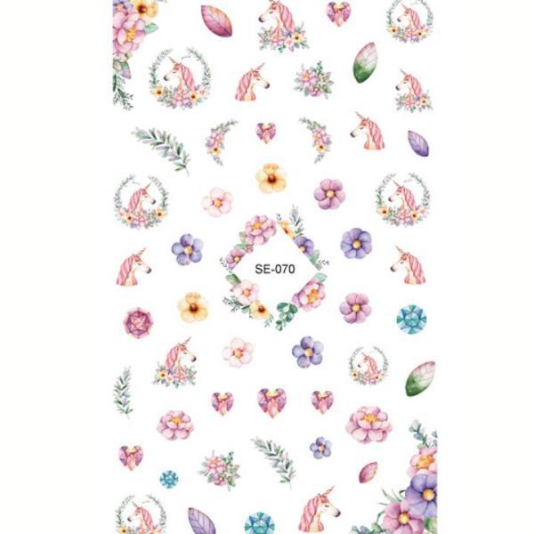 Set sticker dán móng 80 chi tiết hình Unicorn lung linh ngọt ngào BBShine – J036 giá rẻ