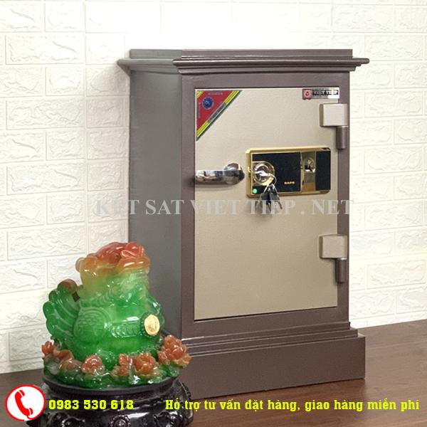 [CHINH HANG] Két sắt vân tay Việt Tiệp cao cấp KVT65-110kg