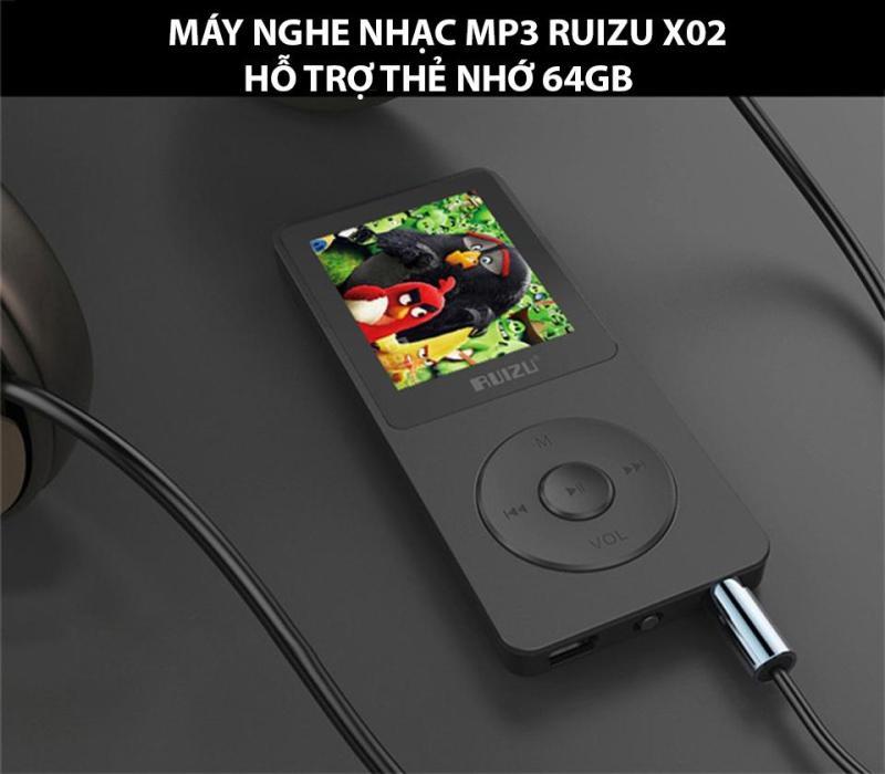 Máy Nghe Nhạc Hifi Mp3 Ruizu X02