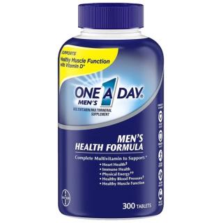 One A Day Viên Uống Men s Multivitamin Health Formula 300 Viên Của Mỹ Bổ Sung Vitamin Tổng Hợp Cho Nam thumbnail