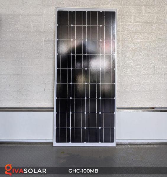 Tấm Pin Năng Lượng Mặt Trời GIVASOLAR MSP 100W (Tặng Jack MC4) - Hàng chính hãng