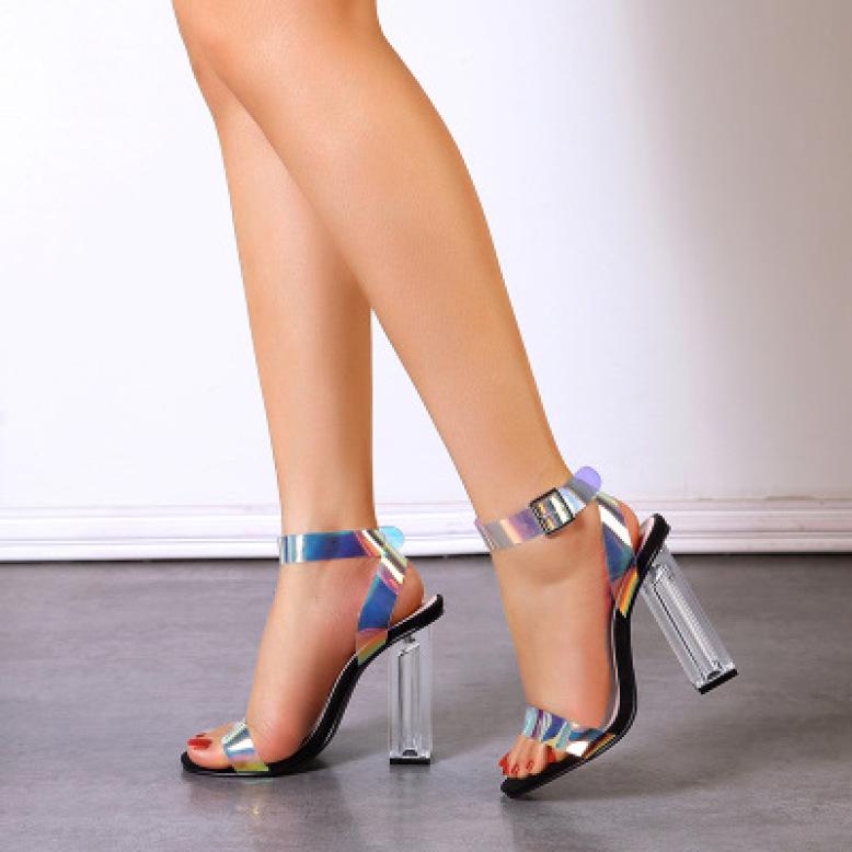 Giày cao gót 9p quai meca dạ quang giá rẻ