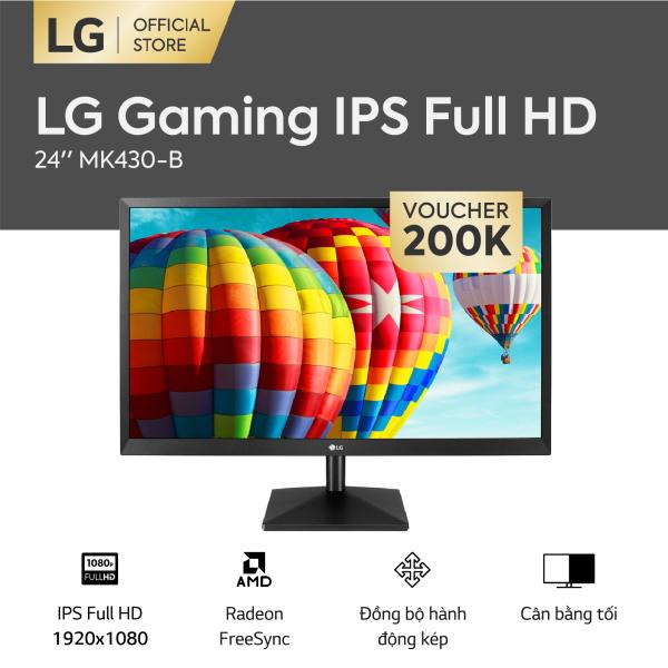 Bảng giá [FREESHIP - VOUCHER 200K] Màn hình máy tính LG Gaming IPS Full HD 1920 x 1080 l 5ms 75Hz l FreeSync™ l 24MK430H-B l HÀNG CHÍNH HÃNG Phong Vũ