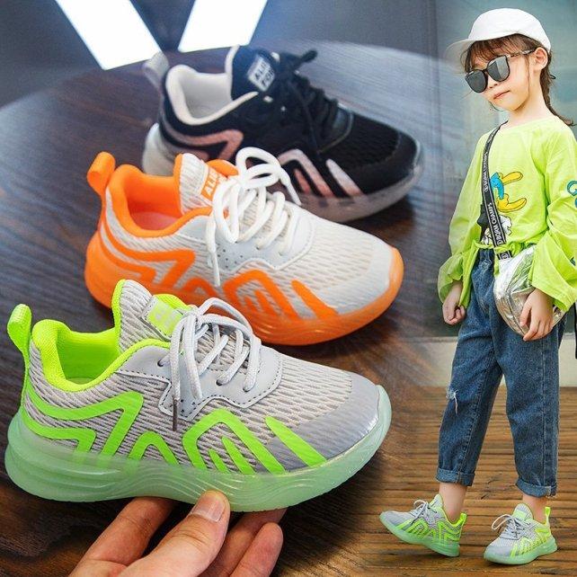 [Size 33-38] Giày Thể Thao Cho Bé Trai / Bé Gái Giày Sneaker Cho Bé  GT263 giá rẻ