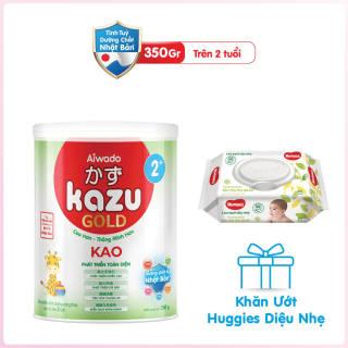 [Tinh tuý dưỡng chất Nhật Bản] Sữa bột KAZU KAO GOLD 350g 2+ thumbnail