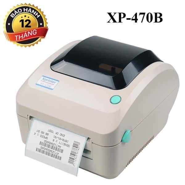 Bảng giá Máy In Đơn Hàng, In Tem, In Vận Đơn Tmđt Khổ 110Mm Xprinter Xp-470B Phong Vũ