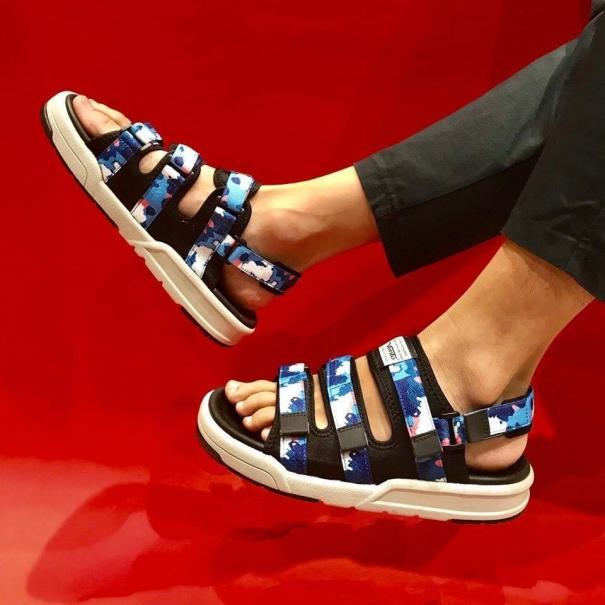 Giày Sandal Nam Vento Đế Siêu Nhẹ Cao 2.5cm NV1001 giá rẻ