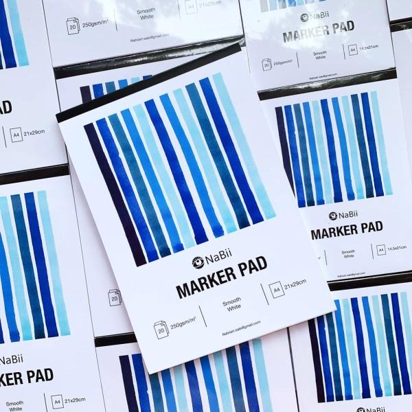 Mua Sổ Nabii Marker Pad - 250Gsm - 20 tờ