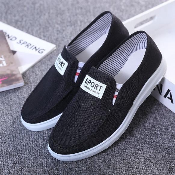 Giày lười vải nam Sport kiểu dáng đơn giản thoáng khí  phù hợp mọi nơi - Sudoo giá rẻ
