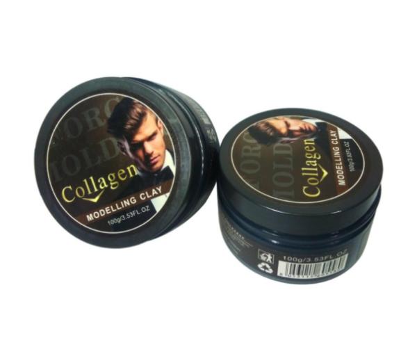 Sáp vuốt tóc Collagen Modelling Clay 100g cao cấp