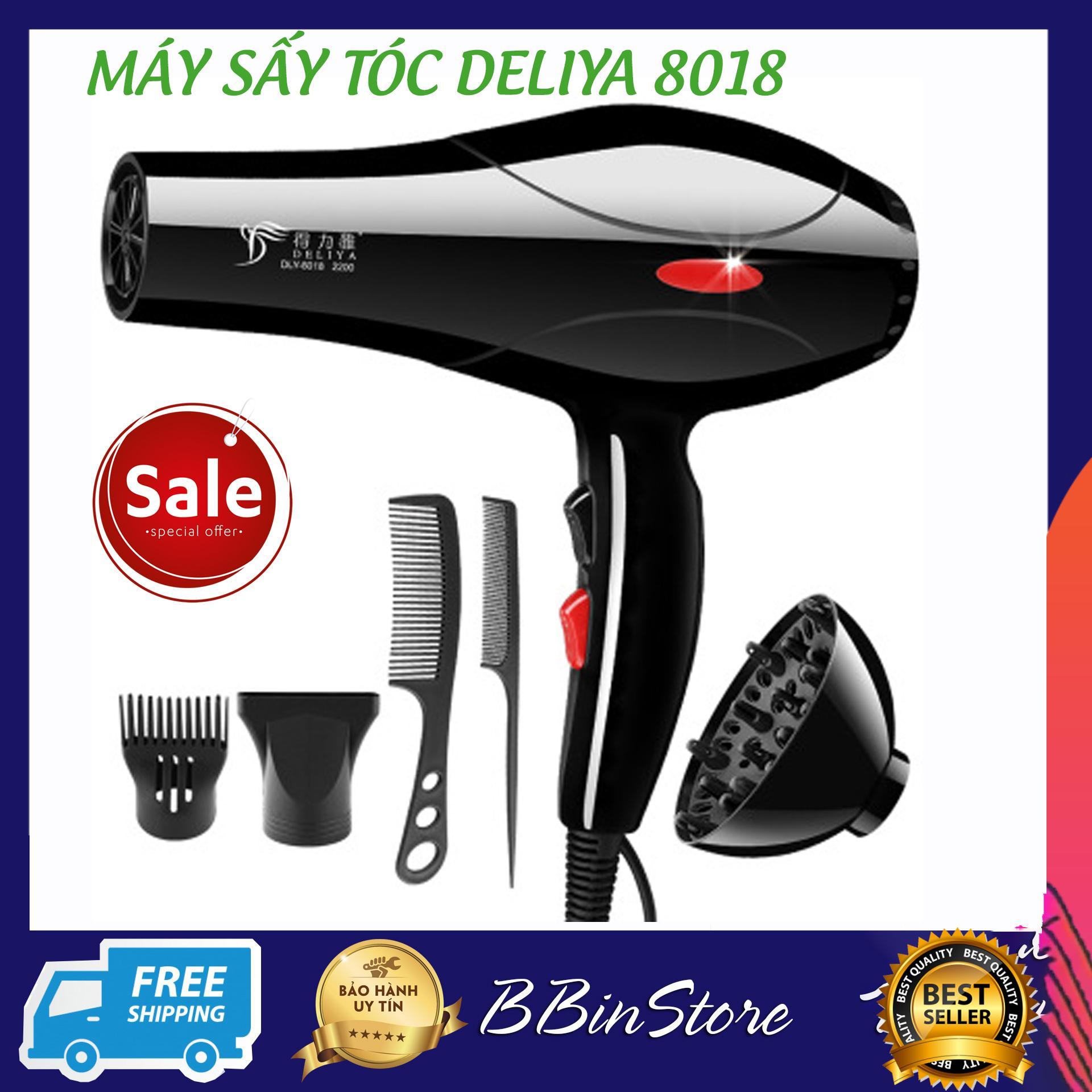 Mua Máy sấy tóc DELIYA công suất lớn hai chiều, Máy Sấy Tóc Tạo Kiểu Deliya bán chạy 2019, Máy sấy tóc 2 chiều nóng lạnh kèm 5 phụ kiện. Thiết kế thời trang, tiện dụng. Giảm giá 50%. Bảo hành 12 tháng.