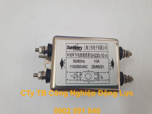 Bảng giá Bộ lọc nhiễu Sunhenry 1 pha 110/250V  10A Phong Vũ