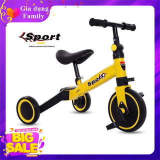 Xe chòi chân 2 in 1, Xe đạp cân bằng, giúp cho bé khả năng vận động rèn luyện sức khỏe trong giai đoạn phát triển thumbnail