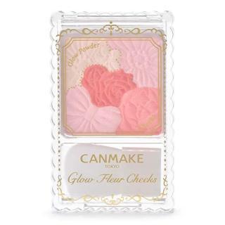 Phấn má Canmake Glow Fleur Cheeks 05 Wedding Fleur 4g (Đỏ hồng) thumbnail