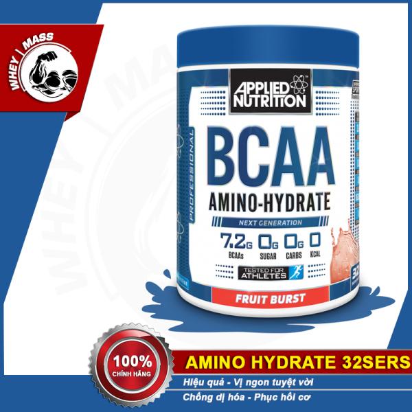 Chống Dị Hóa Cơ Bắp Bcaas APPLIED NUTRITION BCAA AMINO HYDRATE 32 lần dùng (450g) nhập khẩu