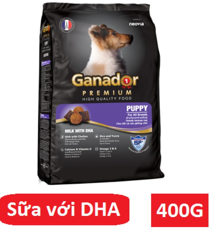 Thức Ăn Cho Chó Con Sữa Và DHA Ganador Puppy