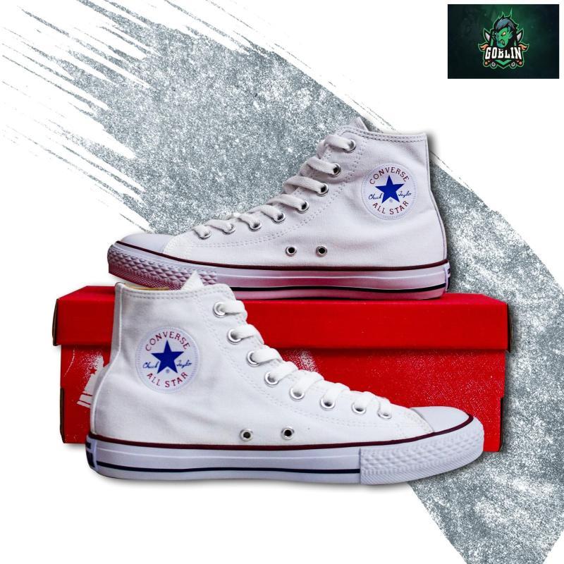 [Có Hộp+tặng Vớ] Giày CONVERSE_CLASSIC cổ cao nam chuẩn Hàng SuperF (Trắng)