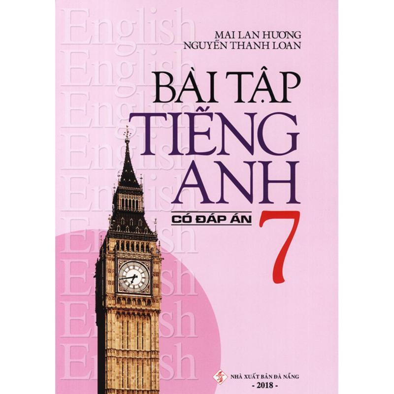 Mua Bài tập tiếng Anh lớp 7 - Có đáp án - Mai Lan Hương