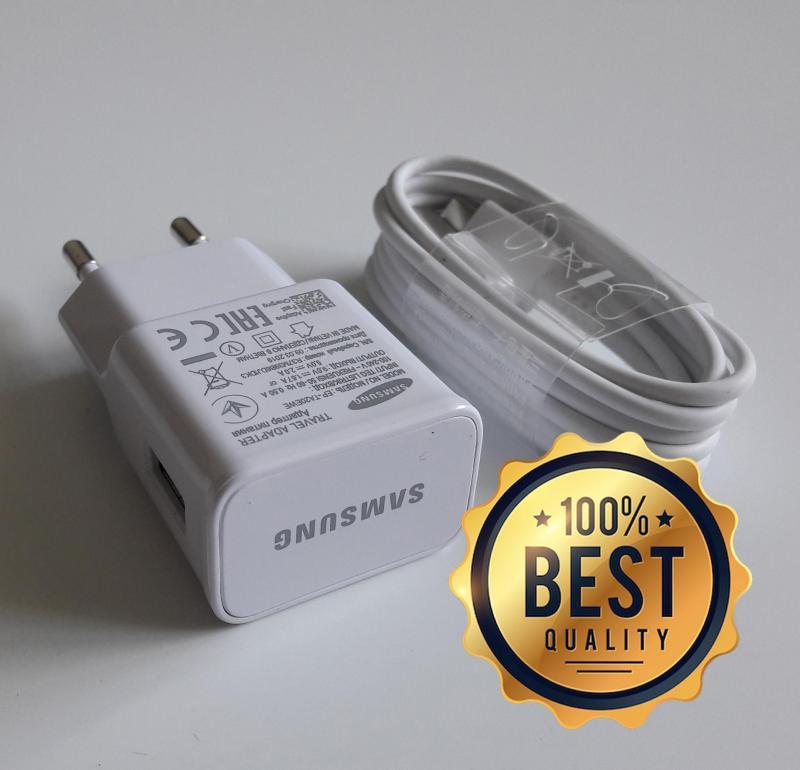 Giá Bộ sạc nhanh Samsung A8 2018 (Cam kết sạc ZIN) (Adaptor + Cable chuẩn USB type C) (Fast Charging)