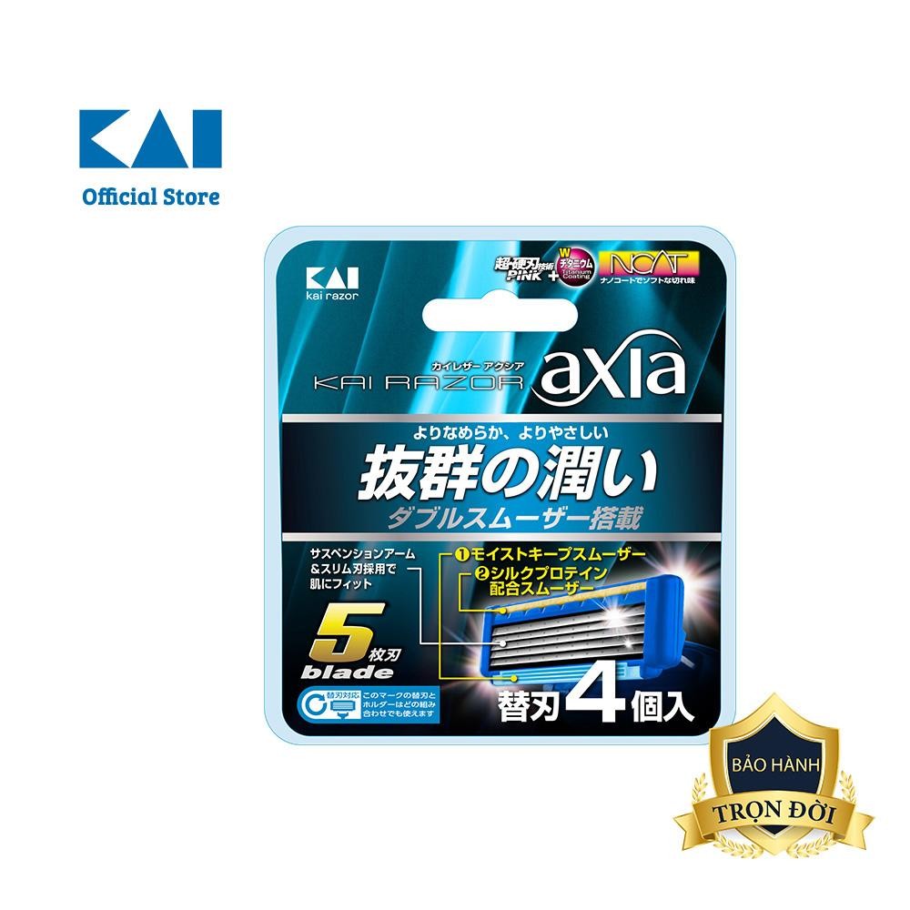 Đầu Dao cạo râu cao cấp Nhật Axia 5 Blade tốt nhất