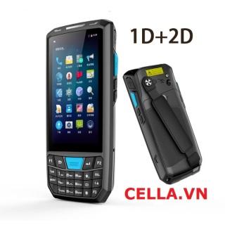 Máy quét mã vạch di động Android - PDA, quét mã vạch, hỗ trợ Wifi + 4G + Bluetooth. thumbnail