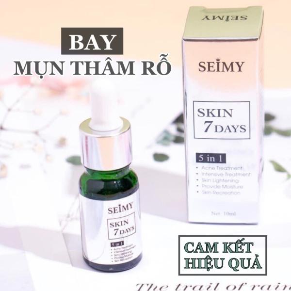 Serum giảm mụn, thâm, rỗ Seimy - SERUM SKIN 7 DAYS - Khắc tinh diệt sạch mụn hiệu quả sau 7-14 ngày giá rẻ