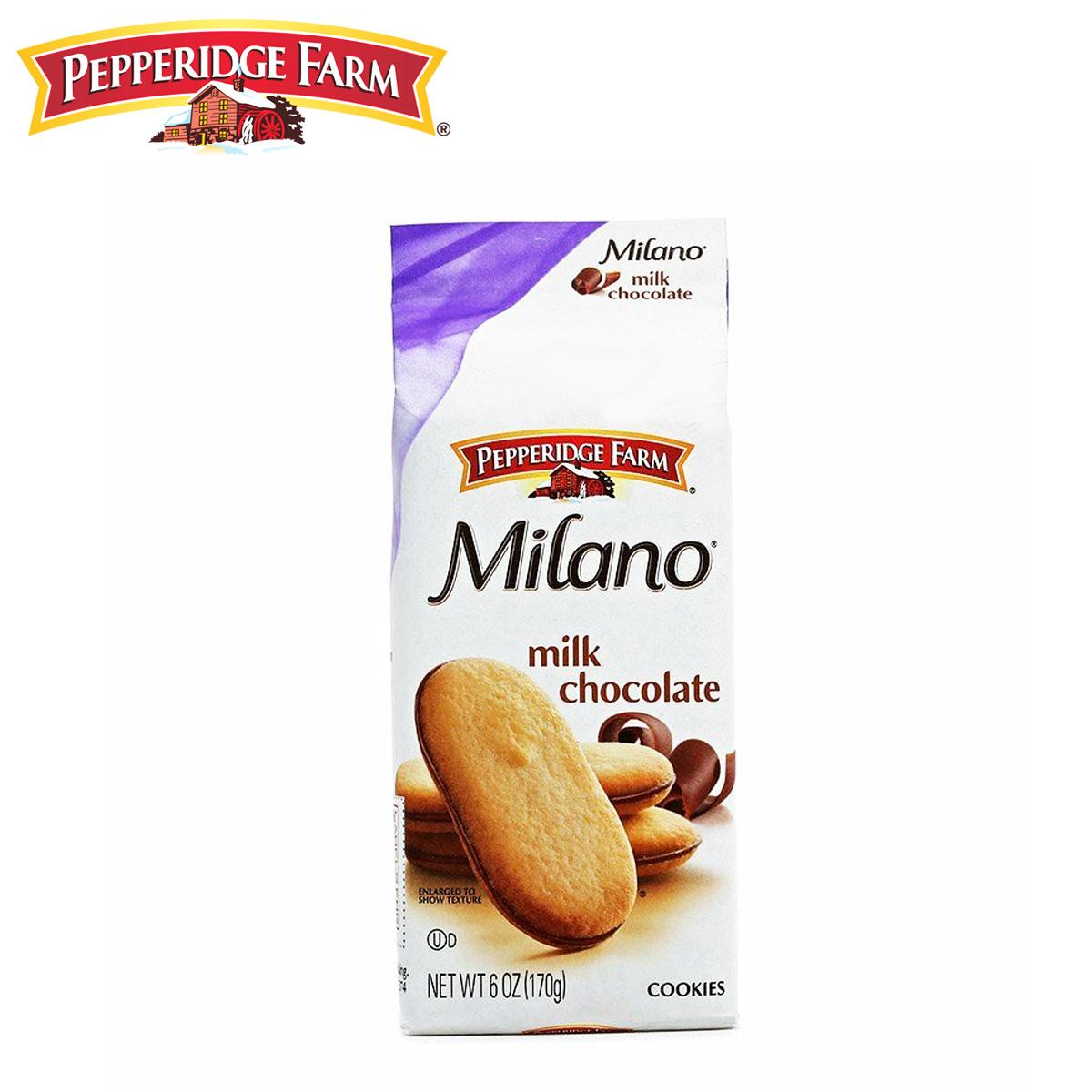 BÁNH QUY SOCOLA MILK CHOCOLATE MILANO PEPPERIDGE FARM