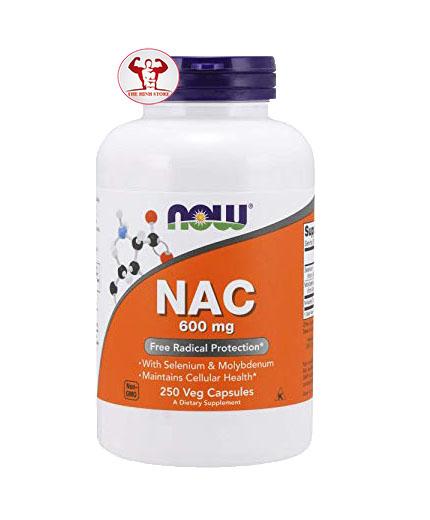 THẢI ĐỘC GAN-NOW NAC (N-Acetyl-L-Cysteine)  600mg 250 VIÊN