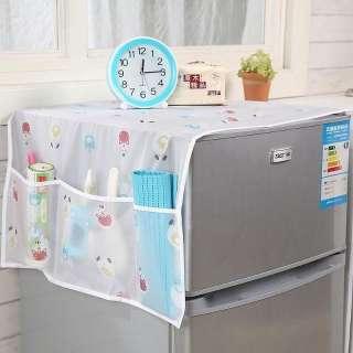 Tấm phủ tủ lạnh có túi tiện dụng