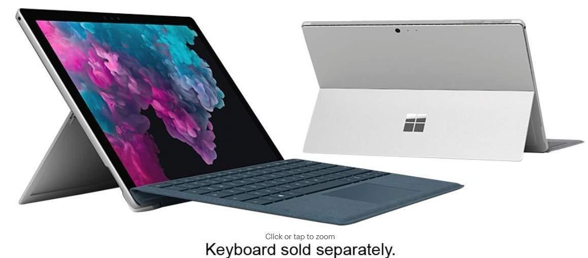 Surface Pro 6 Intel Core I5/ RAM 8GB/ SSD 256GB/ Màn Hình 12.3 Inch Đang Ưu Đãi