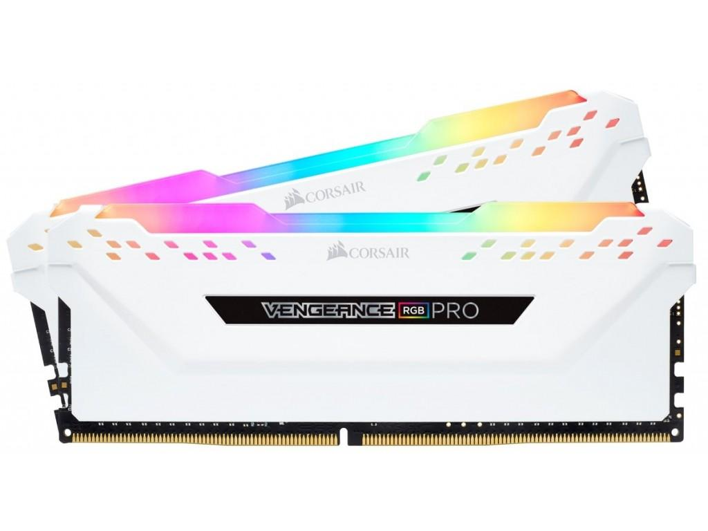 Ram Corsair Vengeance RGB Pro 16GB (2x8GB) DDR4 3000MHz C15 White (CMW16GX4M2C3000C15W)