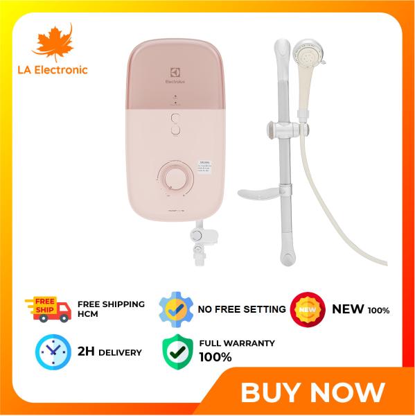 Bảng giá Trả Góp 0% - Máy nước nóng trực tiếp Electrolux 4500W EWE451LB-DPX2 - Miễn phí vận chuyển HCM
